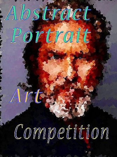 abstract portrait juried online art competition - focus point shape.com