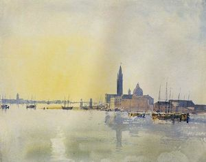 san guirgio Jmw turner sweet summer light